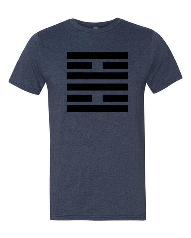 I Ching Hexagram 30 - Li / The Clinging, Fire T-Shirt - Anomaly Creations & Designs
