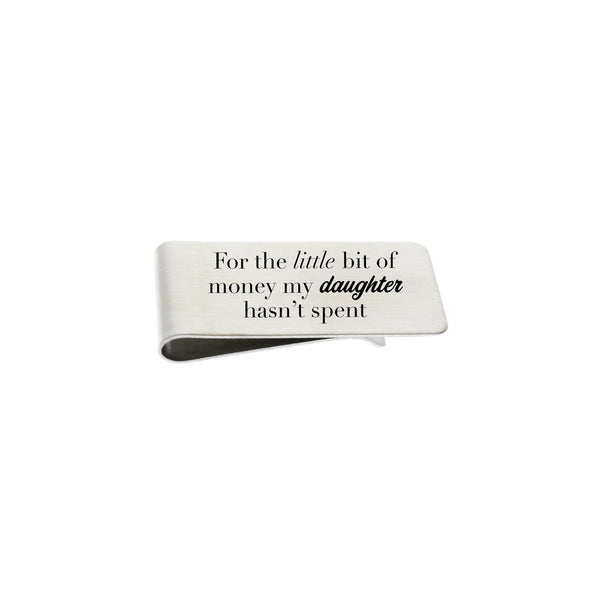 Money Clip - Custom Father of the Bride
