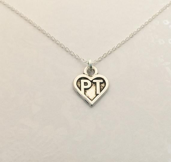Physical Therapist PT Necklace - Anomaly Creations & Designs