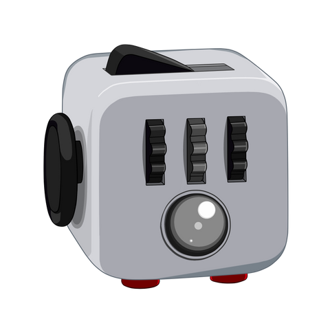 Fidget Cube Sticker