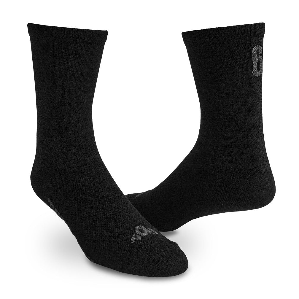 Standard Socks (COOLMAX) (BLACK)