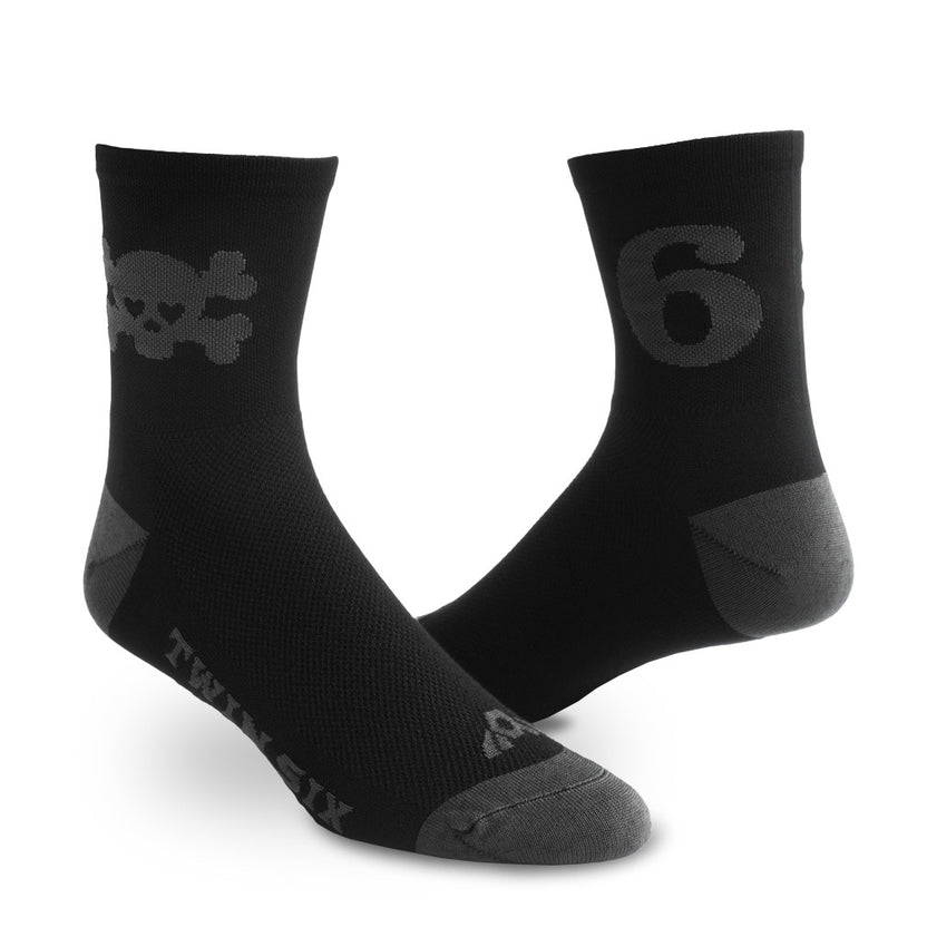 Skull Socks (GRAY)