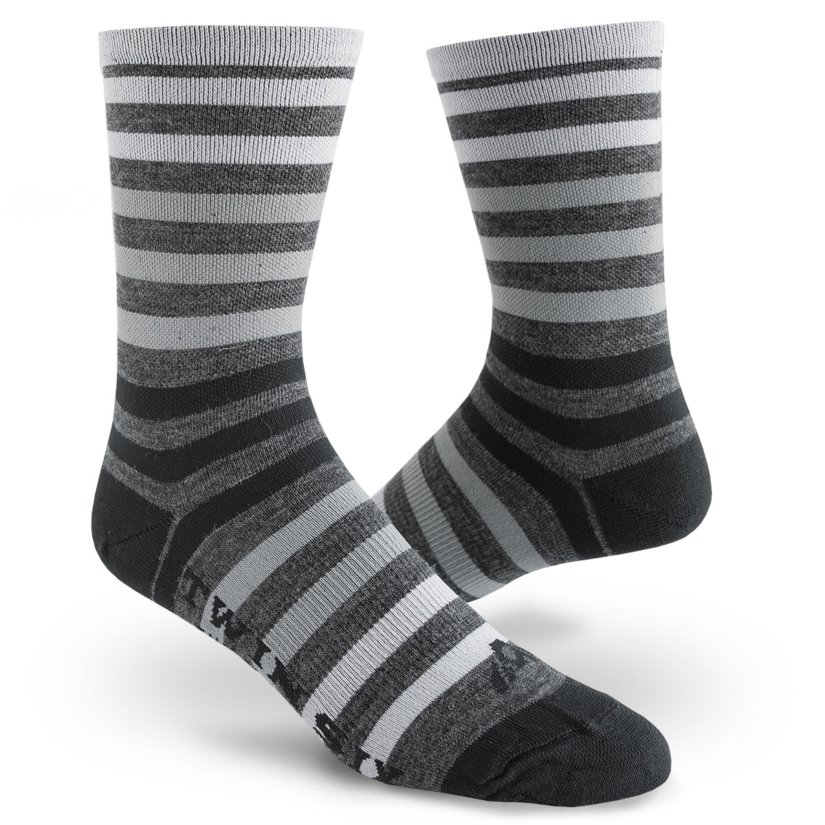 Streamline Socks (WOOL) (BLACK)