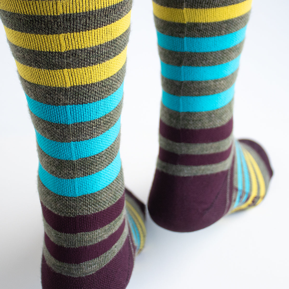 Streamline Socks (WOOL) (OLIVE)
