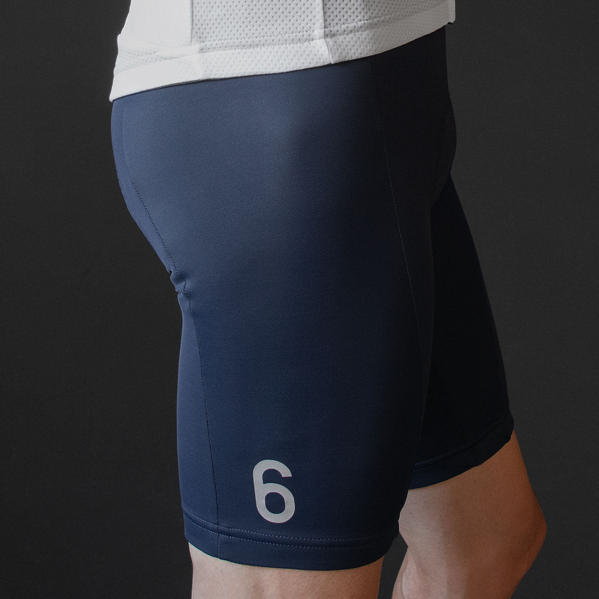 Navy Bib Shorts