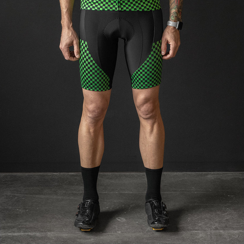 Breakaway Bib Shorts (GREEN)