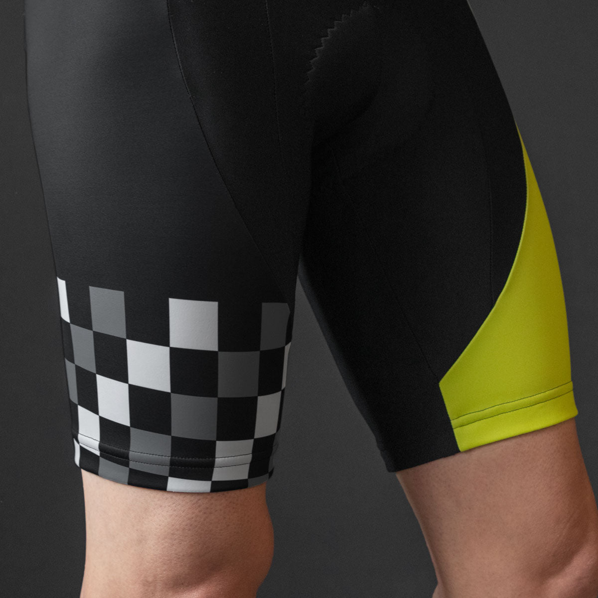 Mach 6 Bib Shorts (YELLOW)