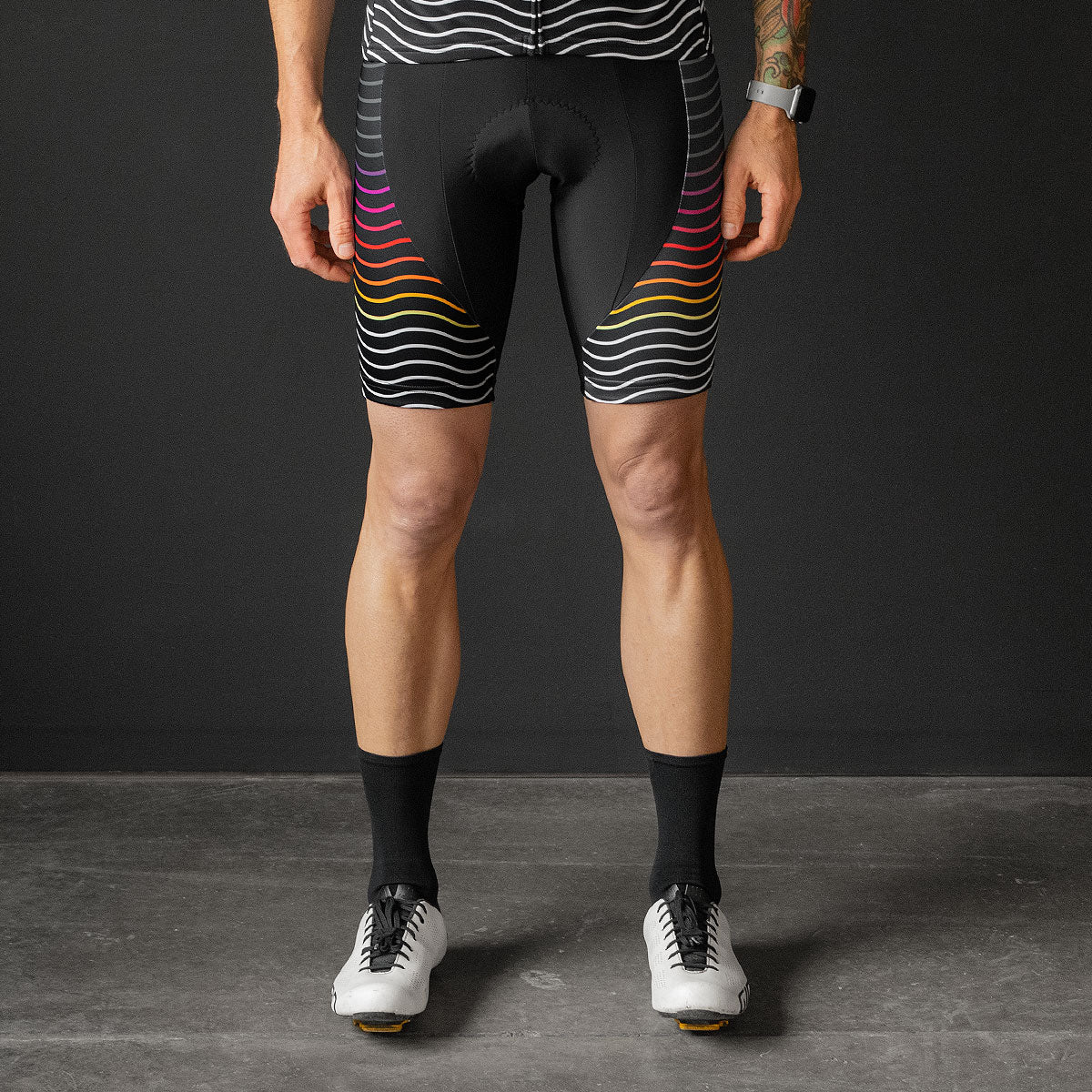 Rollers Bib Shorts (BLACK)
