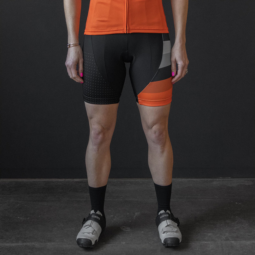 Soloist Bib Shorts (W) (GRAY)