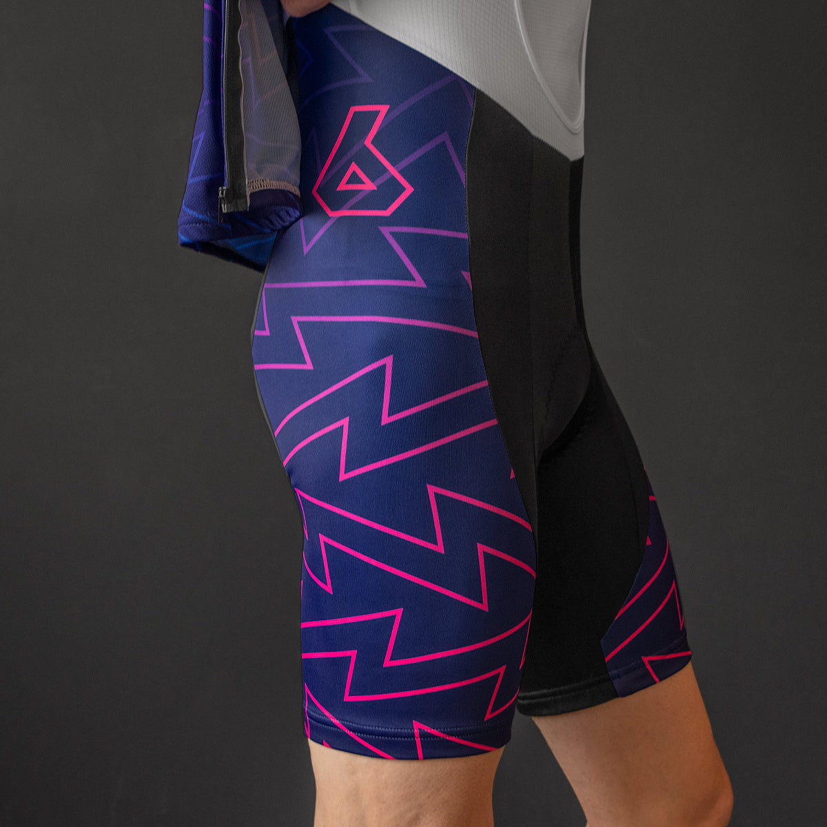 Supercharger Bib Shorts (PURPLE)