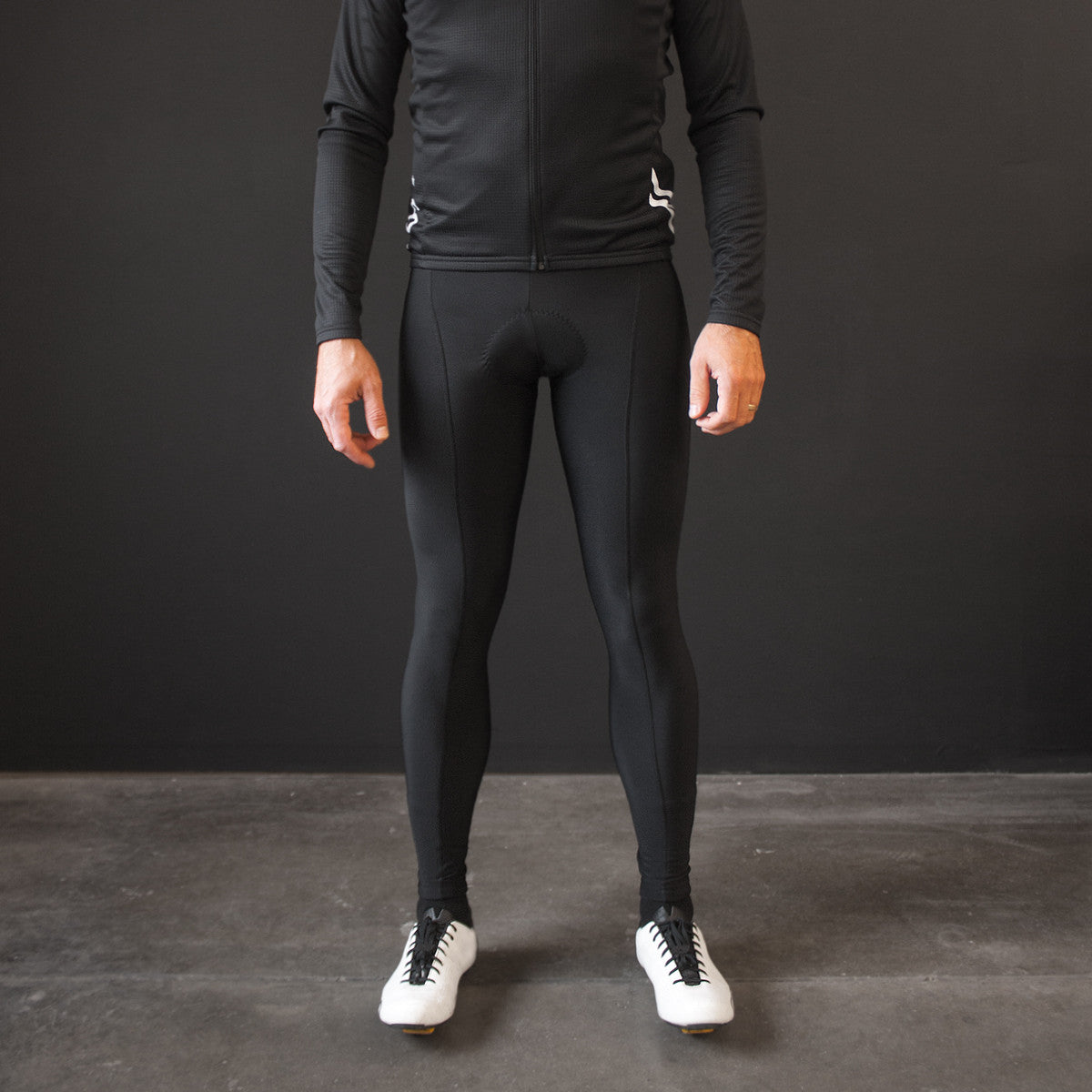 Black Thermal Bib Tights