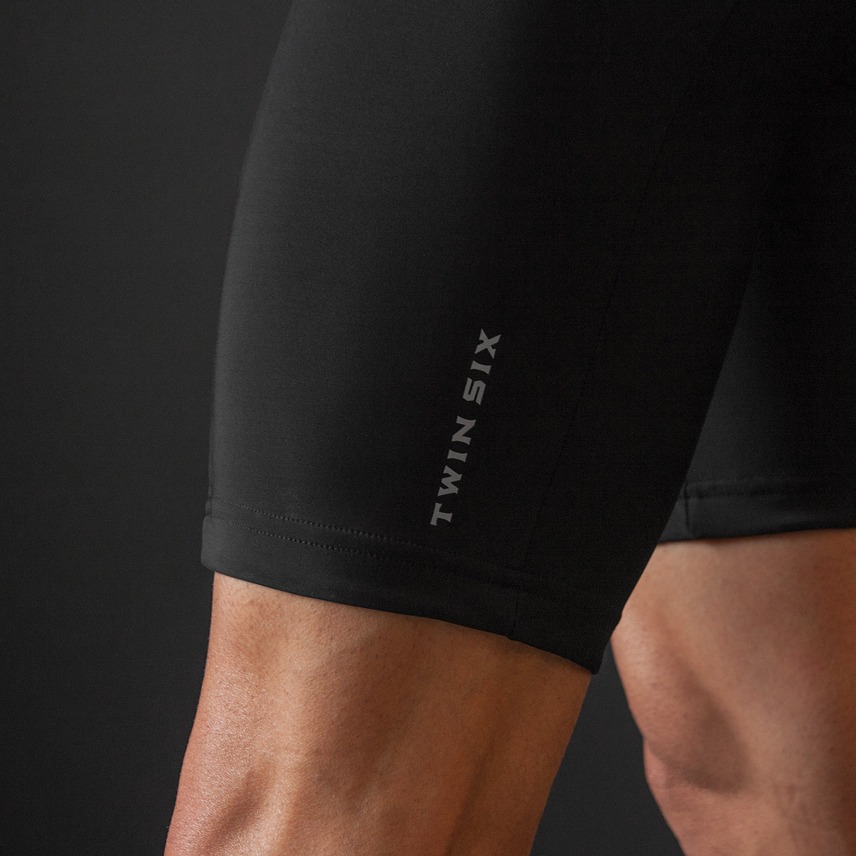 Black Bib Shorts