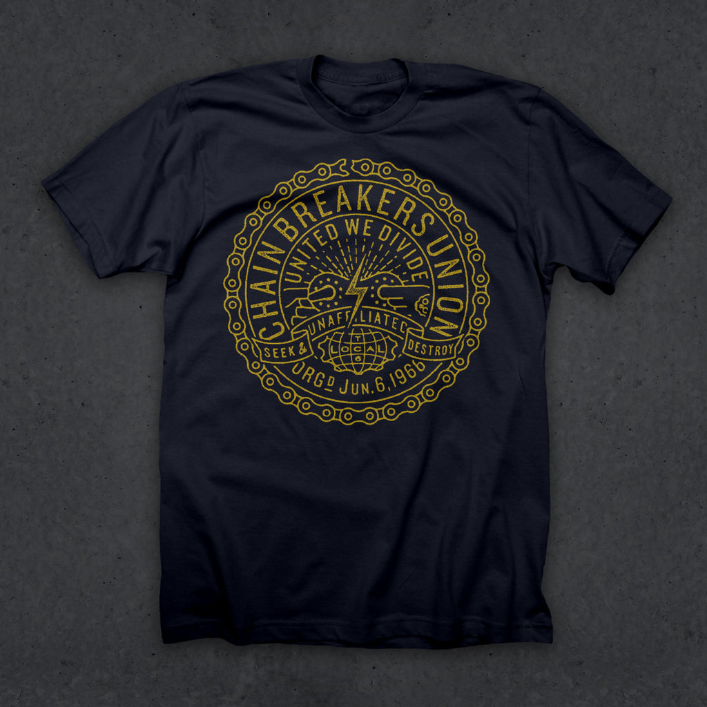 Chain Breakers Union T (NAVY)