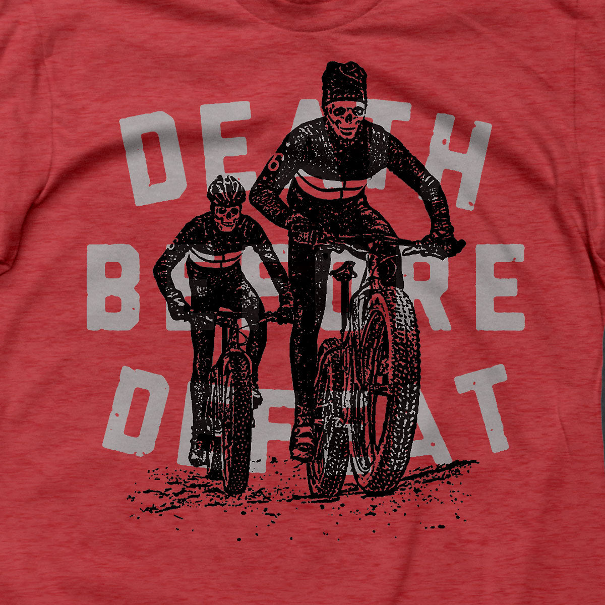 Death Before Defeat T (RED)
