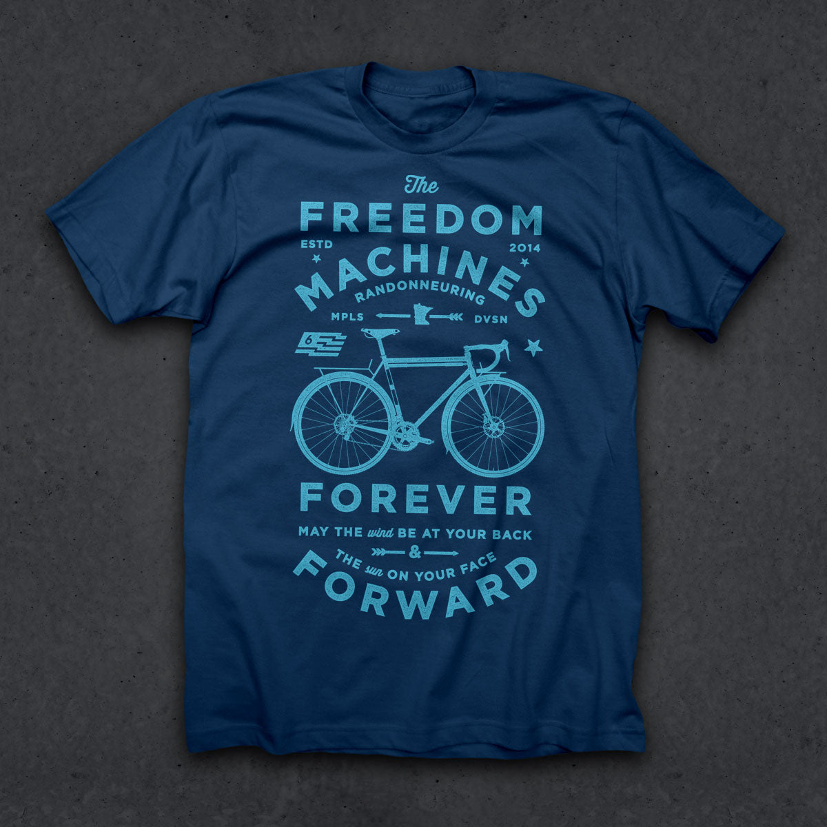 Freedom Machine T (BLUE)