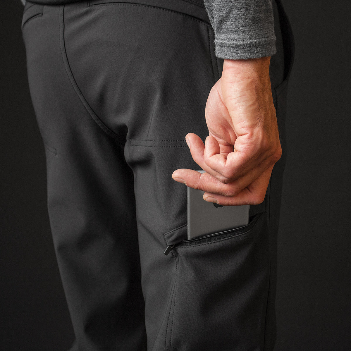 Four Quarters Pant (BLACK)