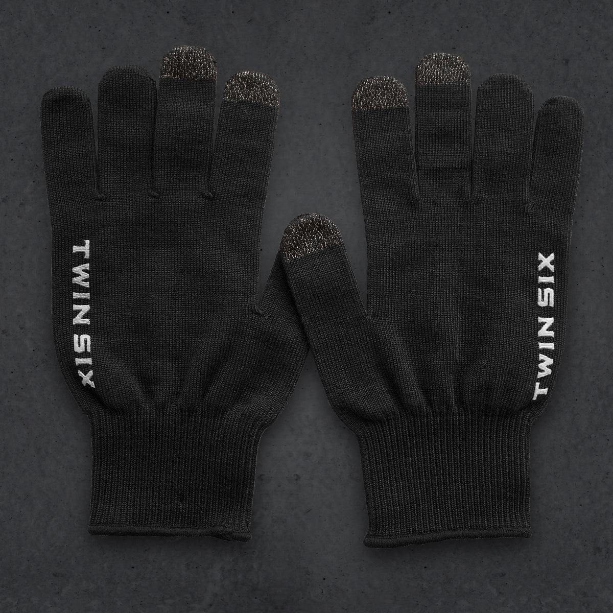 T6 Knit Glove (COOLMAX) (BLACK) v2