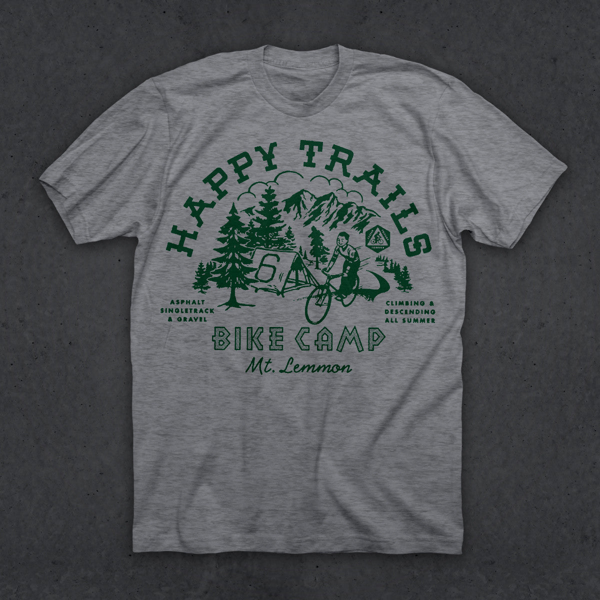 Happy Trails T (HEATHER GRAY)