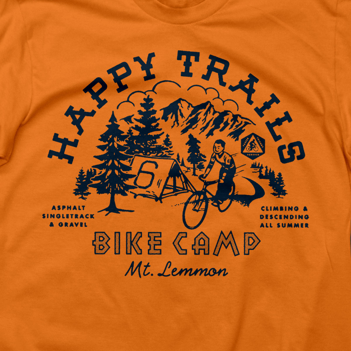 Happy Trails T (ORANGE)