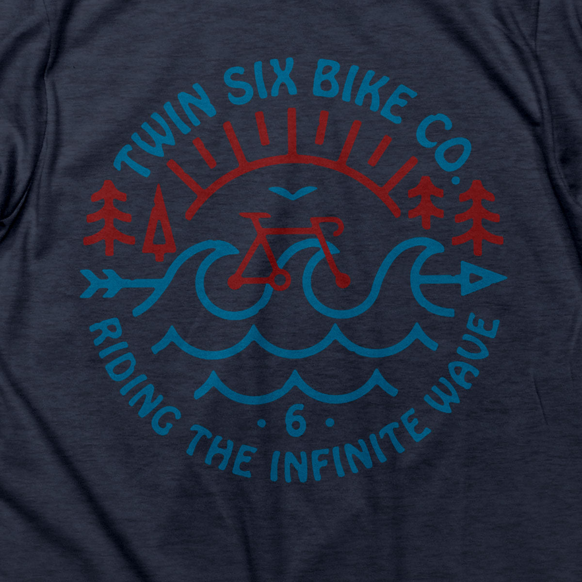 Infinite Wave T (BLUE)