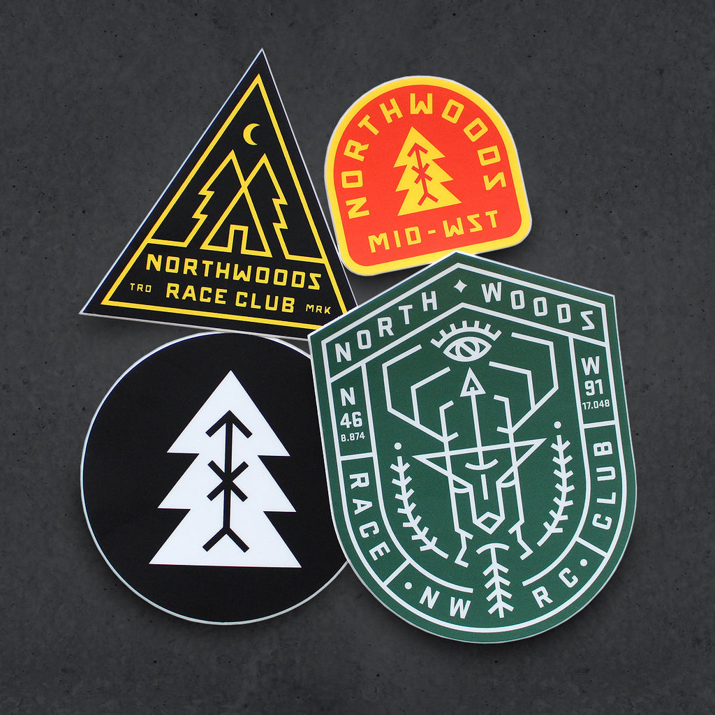 NWRC Forever North Sticker Pack