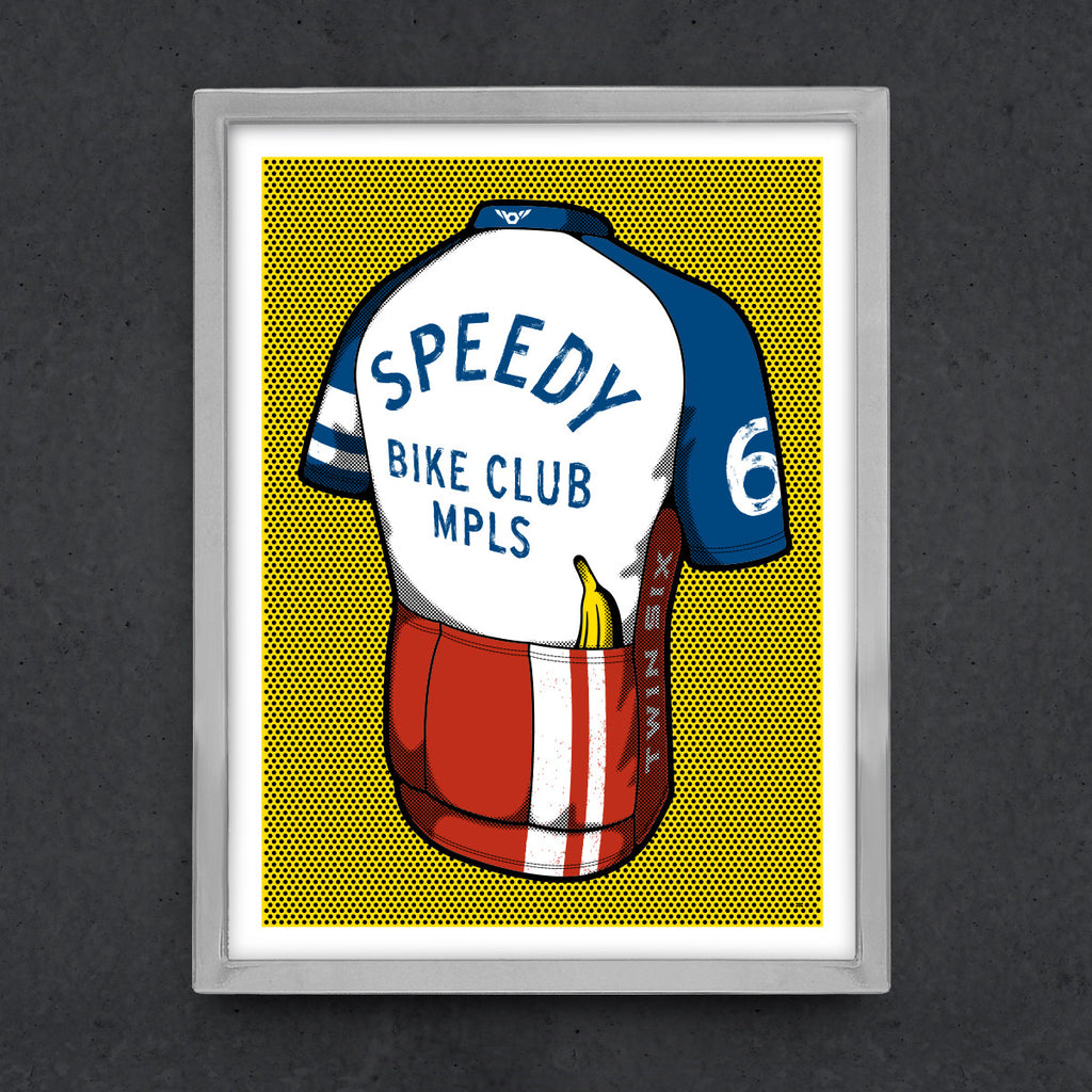 Speedy Bike Club Poster