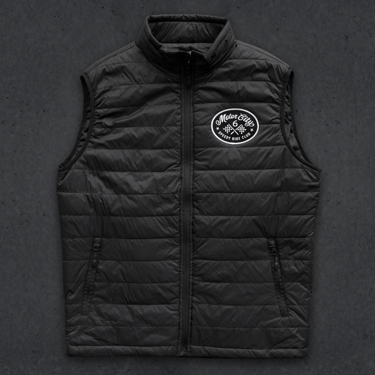 Speedy Motor City Puffer Vest