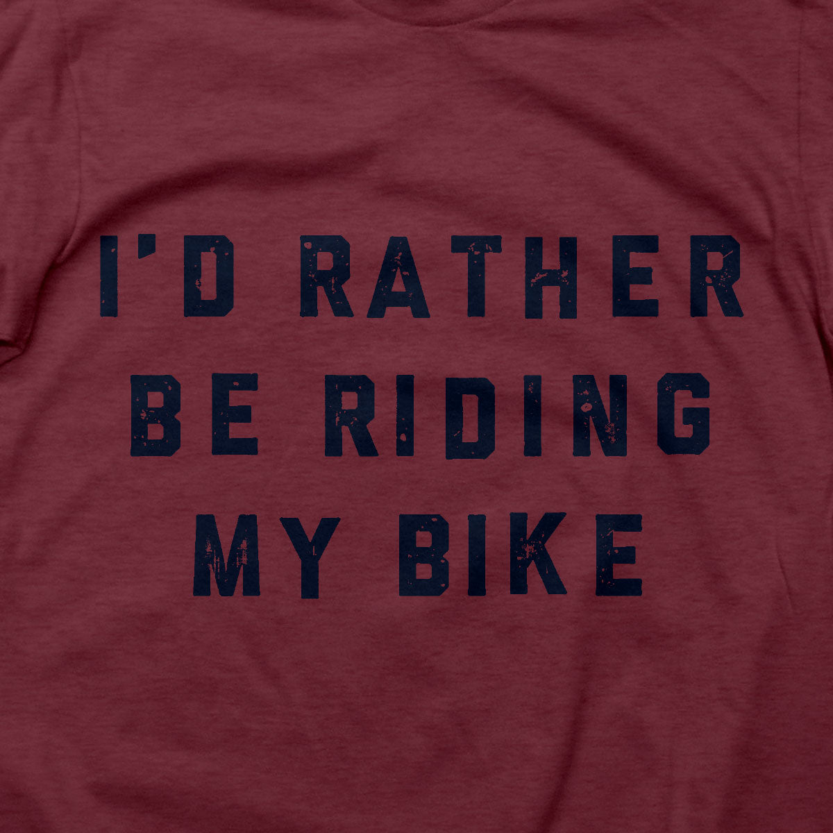 Rather Be Riding T (RED)