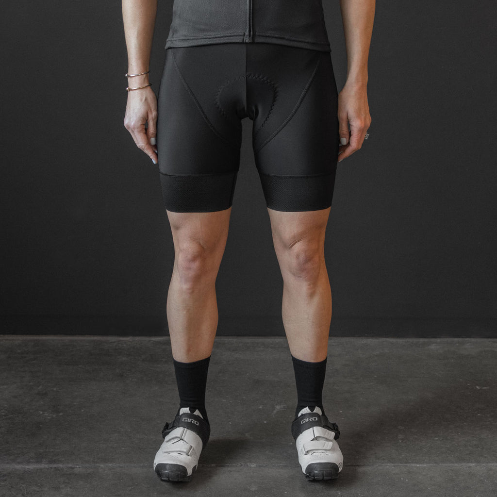 Standard Race Bib Short (W) (BLACK)