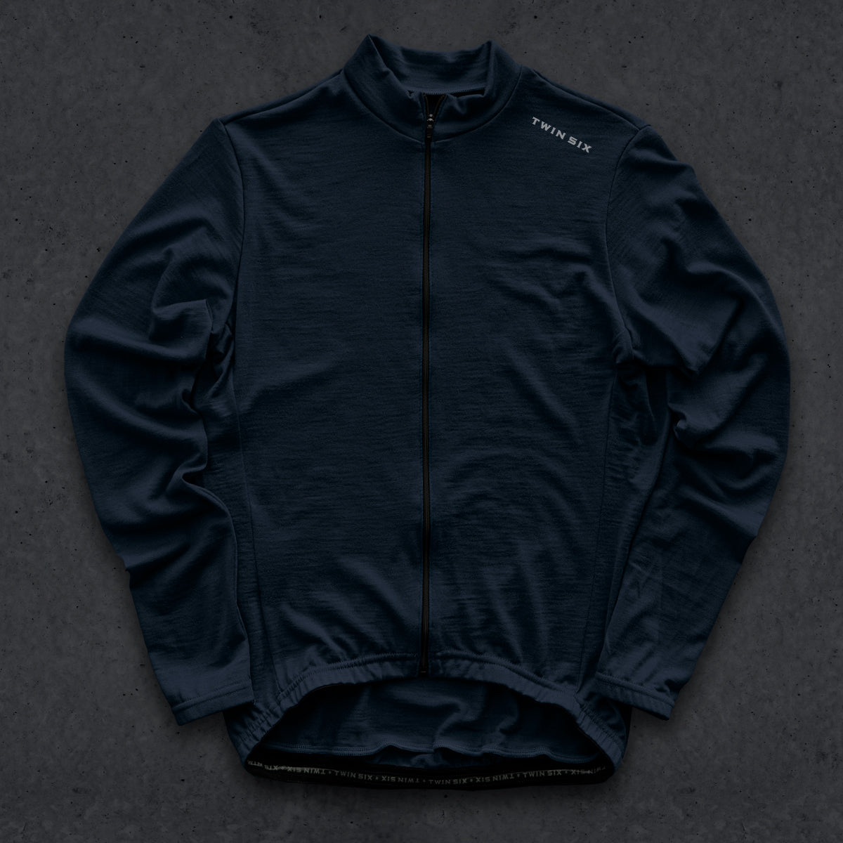 The Standard v2 (LS) (WOOL) (NAVY)