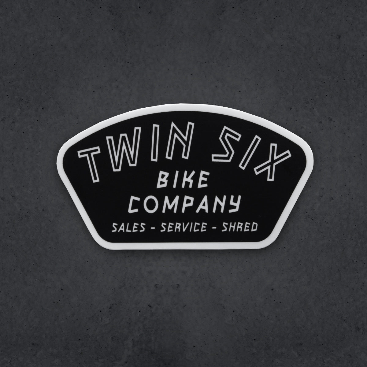 Twin Six Bike Co. Sticker
