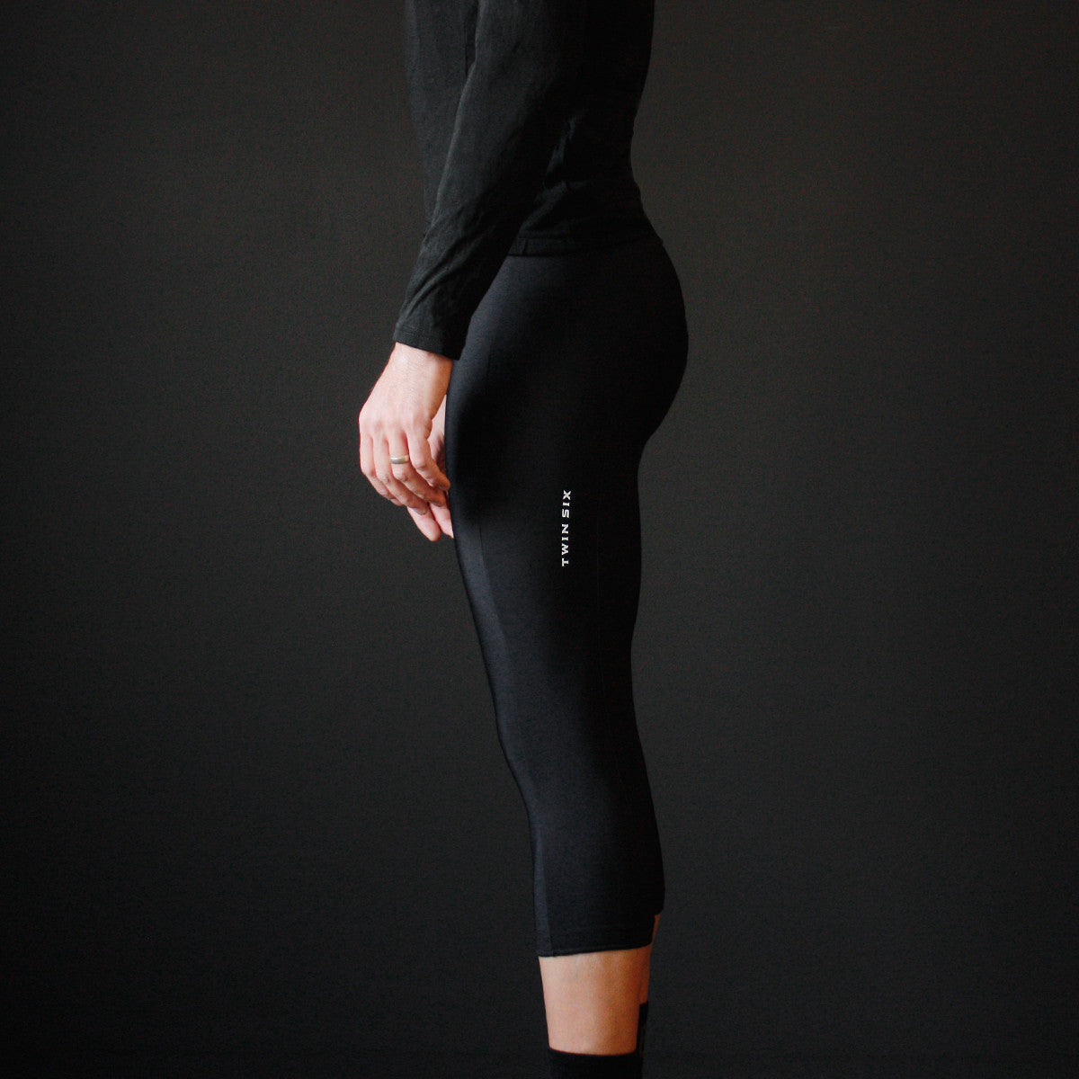 Black Thermal Bib Knickers