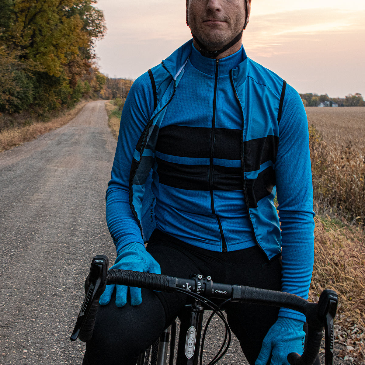 Forever Forward (CYAN) Wind Vest