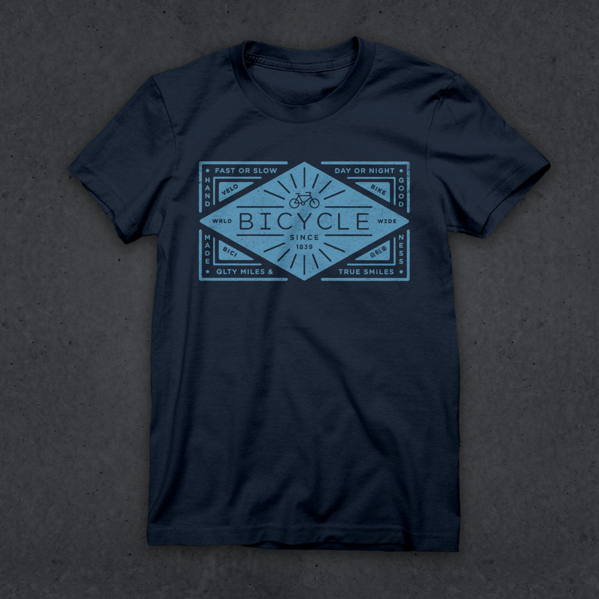 Bicycle T (NAVY) (W)