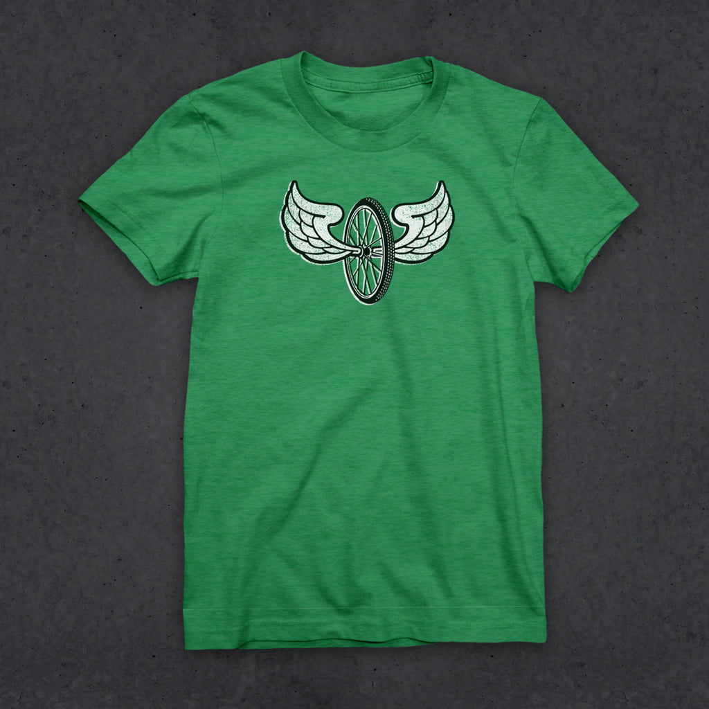 Fly T (W) (HEATHER GREEN)