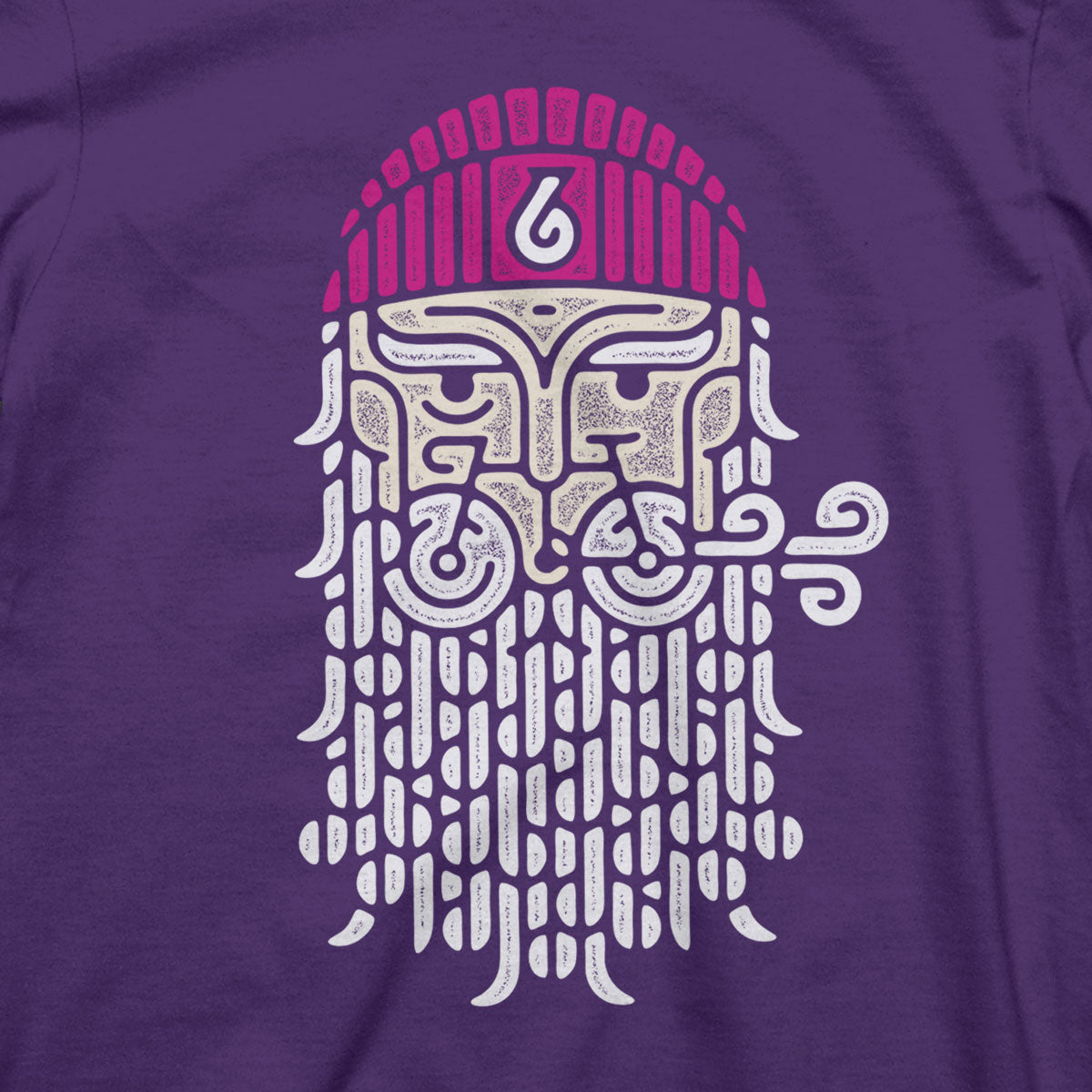 God of Gust T (W) (PURPLE)