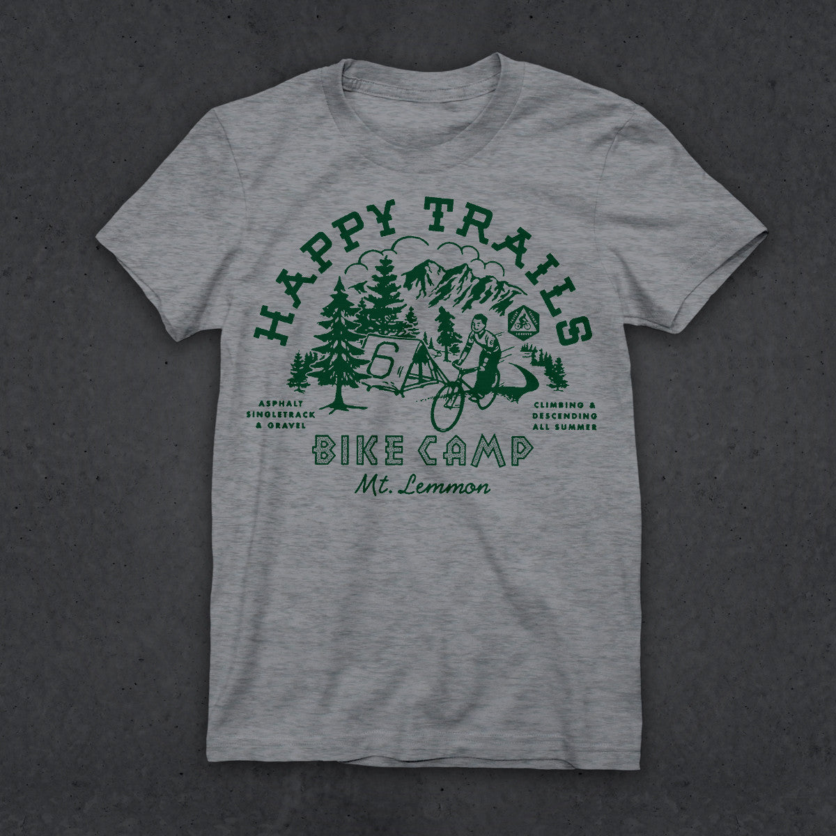 Happy Trails T (W) (HEATHER GRAY)