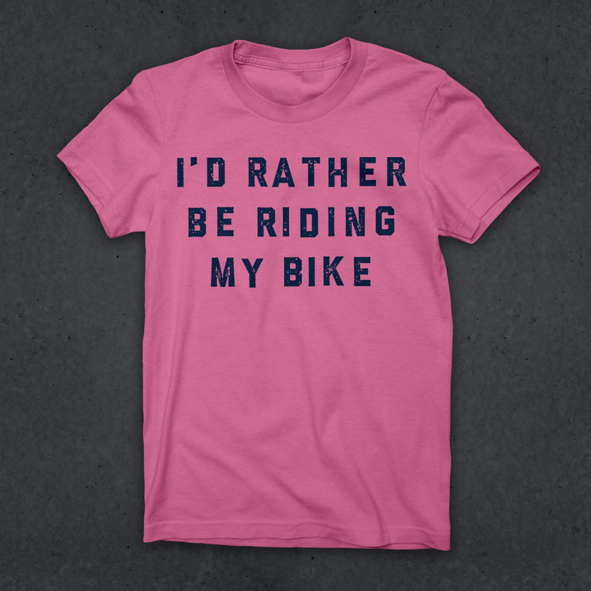 Rather Be Riding T (W) (PINK)