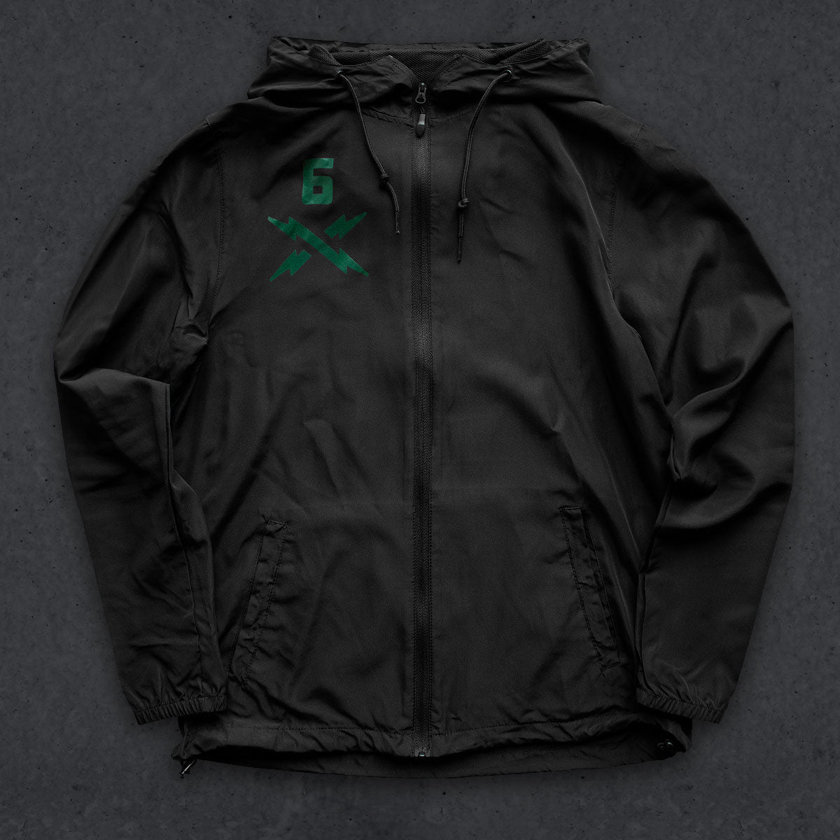 Ride Metal Windbreaker (BLACK)