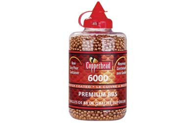 CROSMAN COPPERHEAD BB'S 6000 COUNT