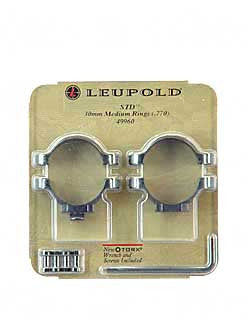 LEUP STD 30MM RINGS MEDIUM