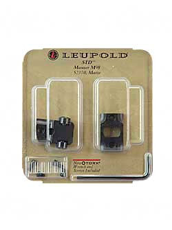 LEUP STD MAUSER 98 2PC BASE MATTE