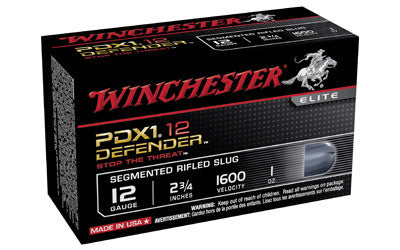 "WIN DEFENDER 12GA 2.75"" 1OZ 10/100"