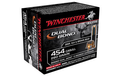 WIN DUAL BOND 454CAS 260GR HP 20/200