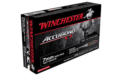 WIN ACCUBOND CT 7MMREM 160GR 20/200