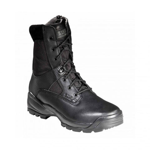 "A.T.A.C. 8"" SIDE ZIP BOOT - BLACK, 4"