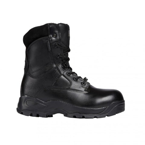 ATAC WMS 8IN SHIELD BOOT BLK 7.5