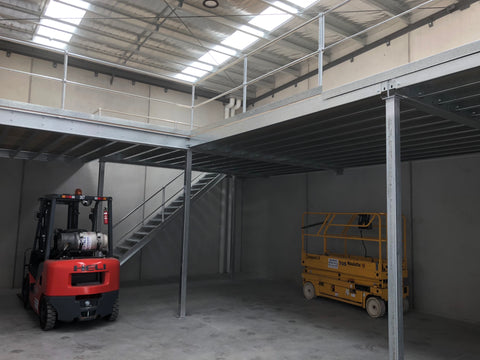Structural Mezzanine Floors