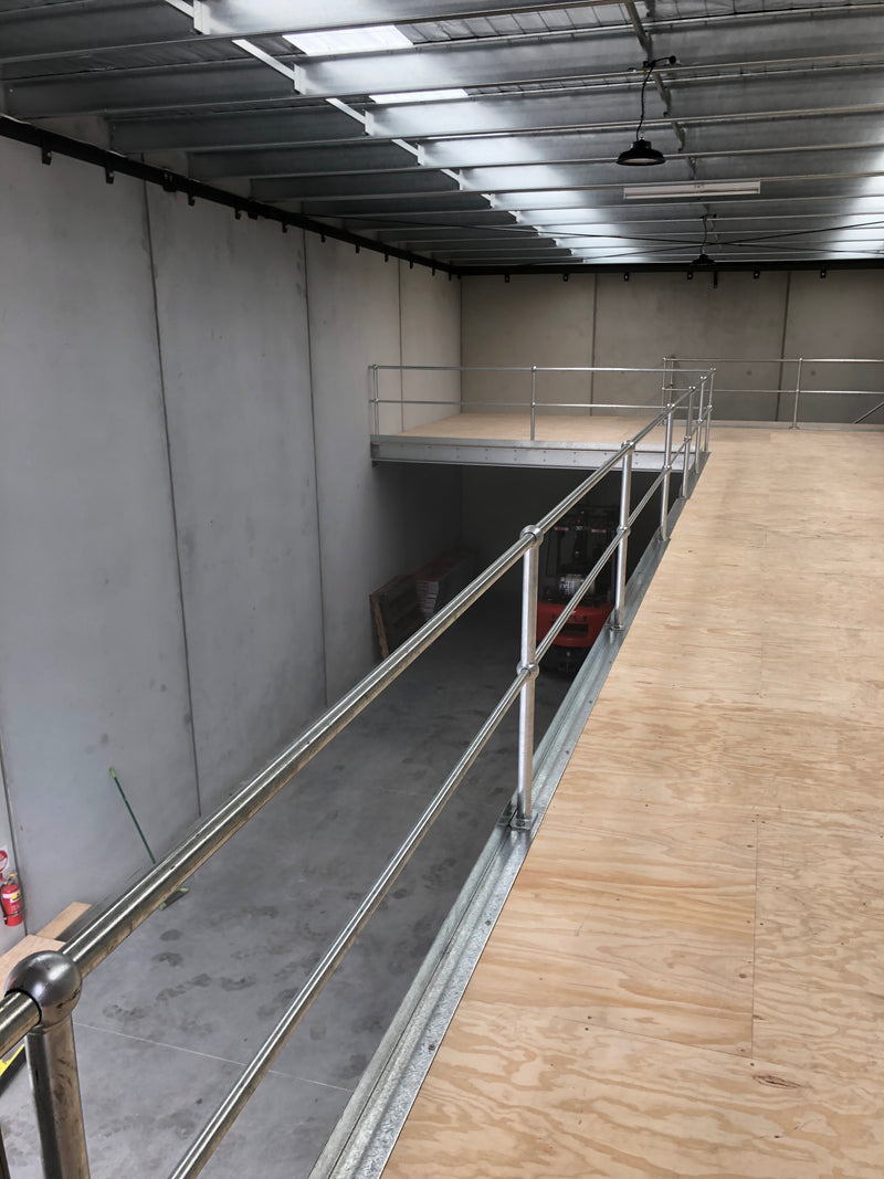 Safety Hand-Railing Per Linear Meter | Mezzanine Floors