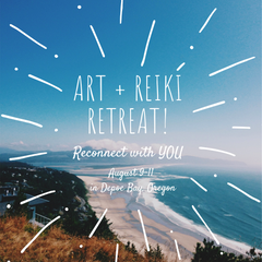 Art and Reiki Women's Retreat in Oregon